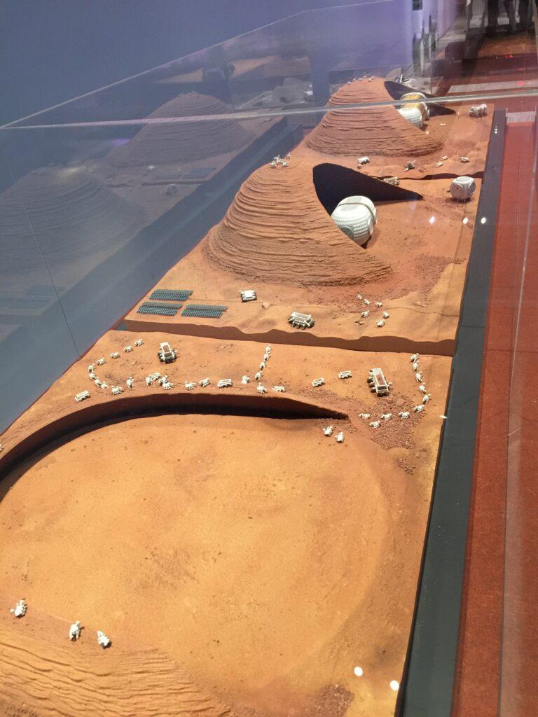 Mars base models